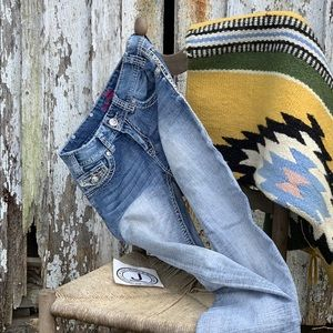 """Rock and Roll Cowgirl Jeans Mid Rise 27""""x34"""""""
